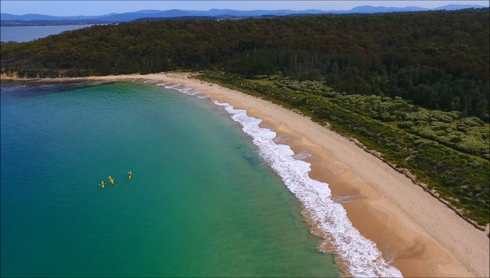 3 day Kayak, Cycle, Hike - South Coast NSW
