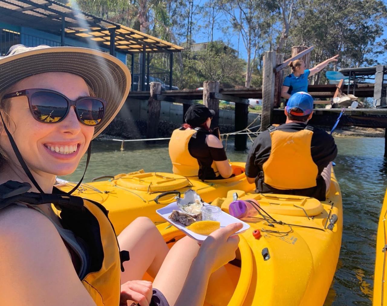 Oyster Tasting Kayak Tour - Batemans Bay