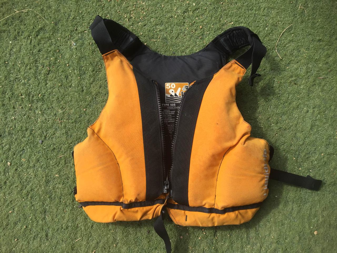 Equipment Hire - PFD, Paddle or Dry Bag