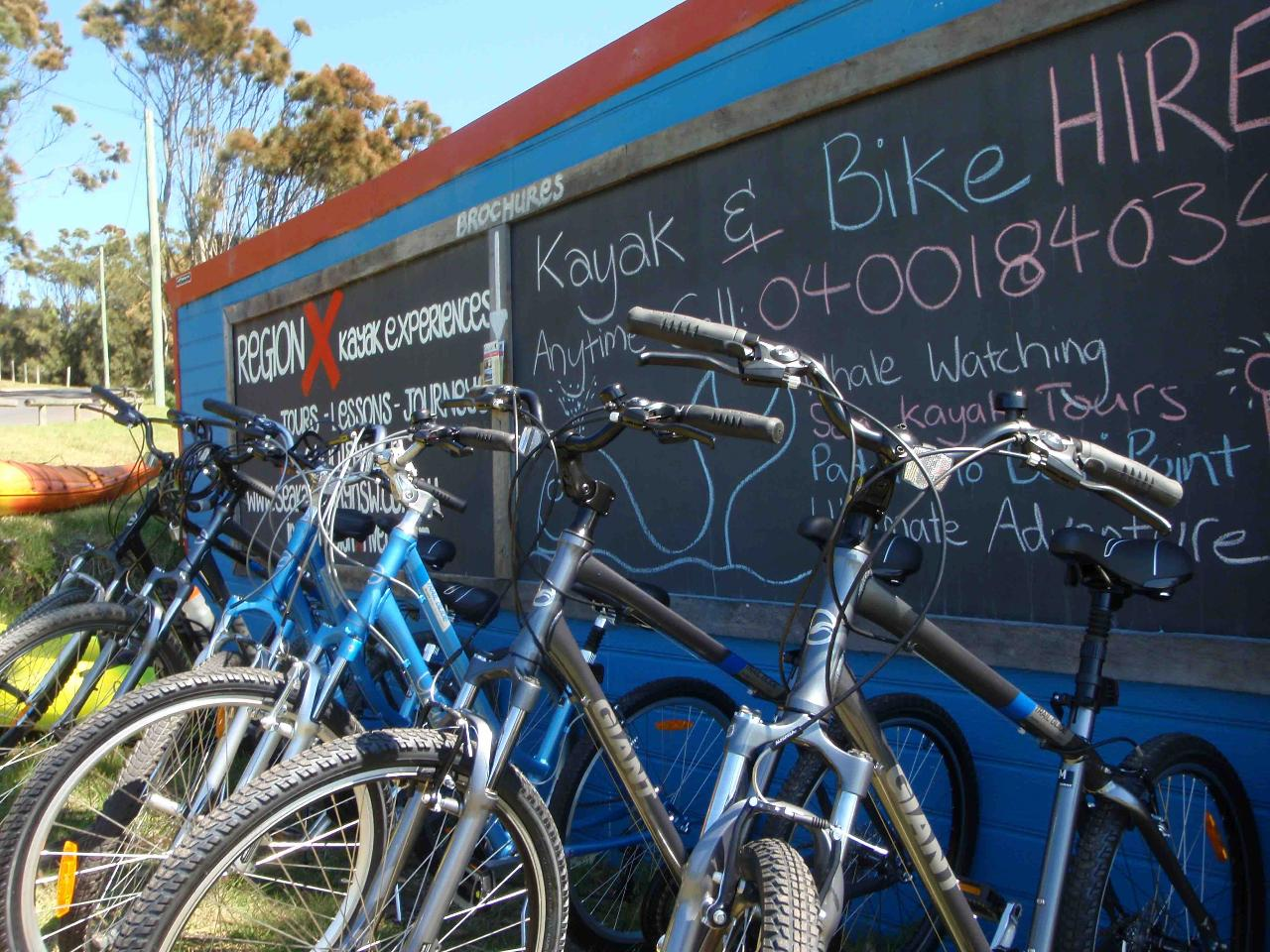 Guided Bike Tour - Mossy Point to Moruya Airport