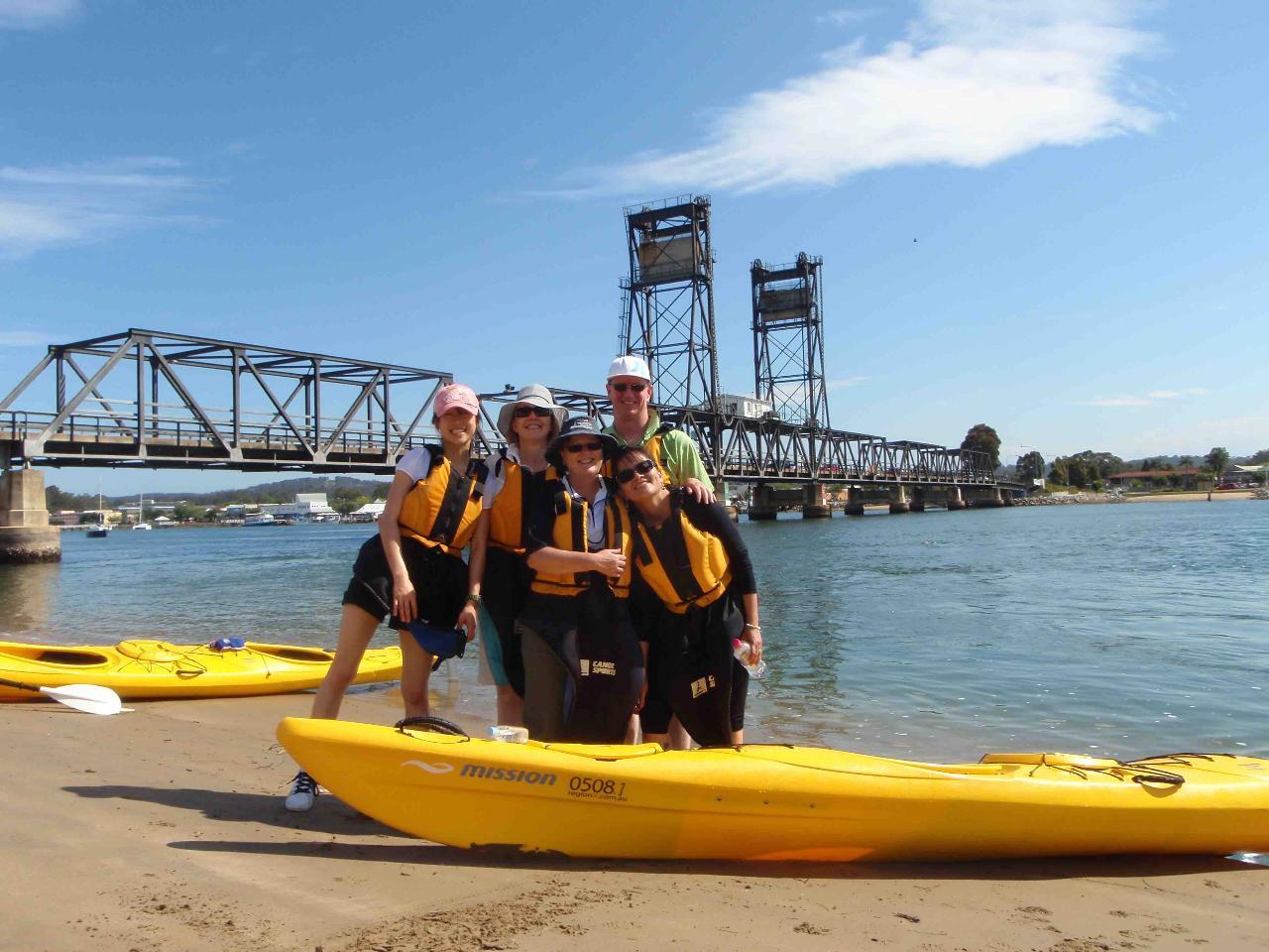 oyster tasting kayak tour batemans bay