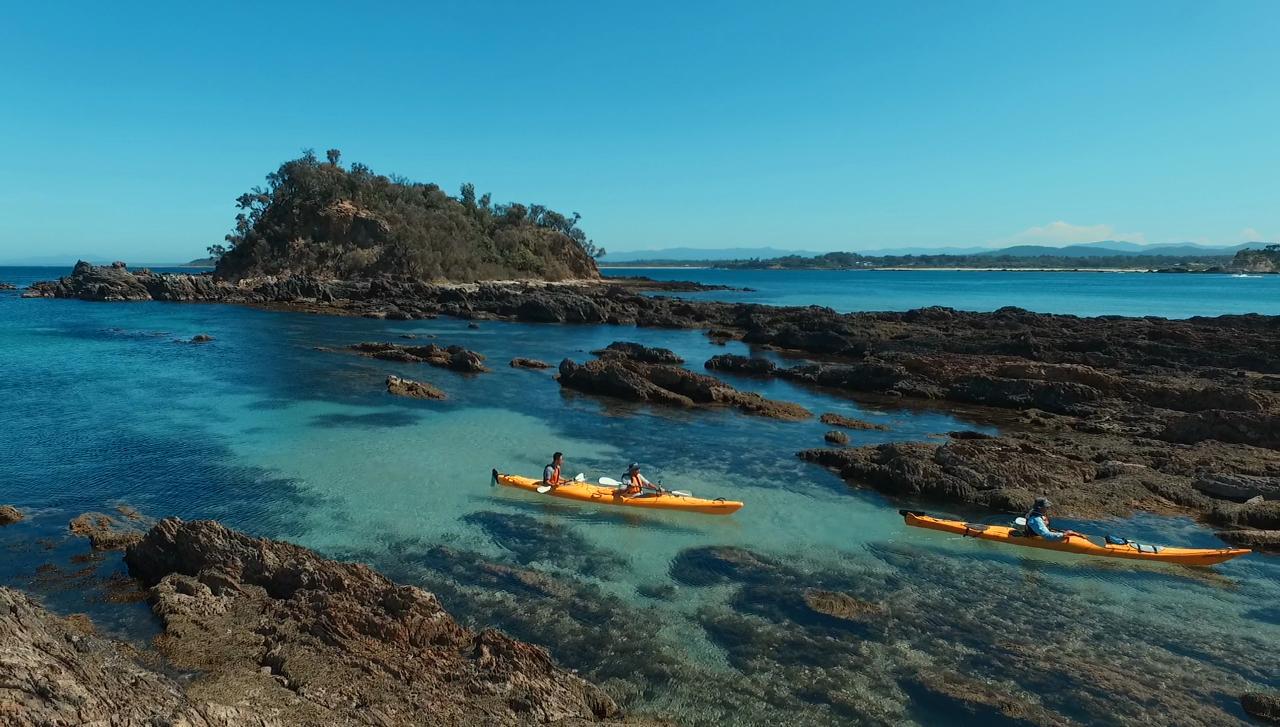 Kayak Camping Tour – Departing Batemans Bay