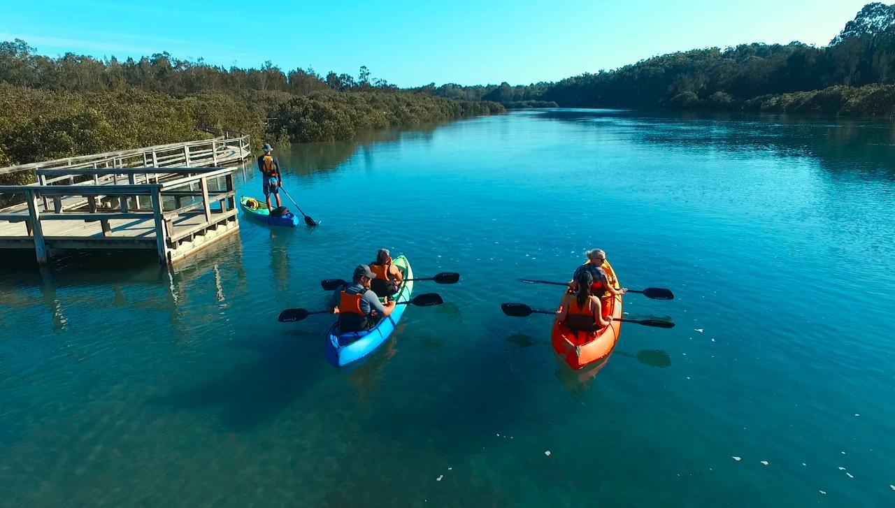 Glass Bottom Kayak Tour - Cullendulla Sanctuary