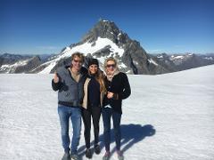 50 min Mt Aspiring + Glaciers Helicopter flight