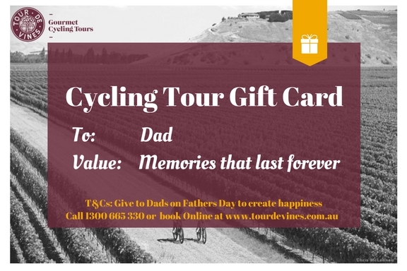 Tour de Vines Gift Voucher