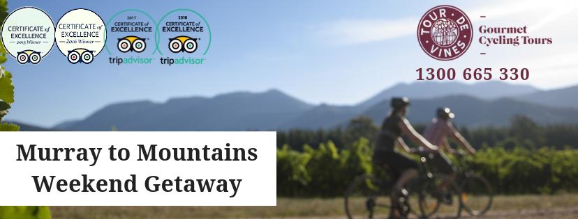 Tour de Murray to Mountains Rail Trail - Group Weekend