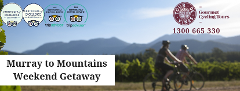 Tour de Murray to Mountains Rail Trail - Group Weekend