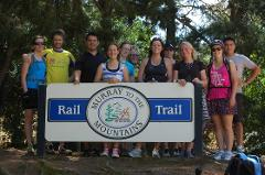 Tour de Murray to Mountains Rail Trail Group Weekend