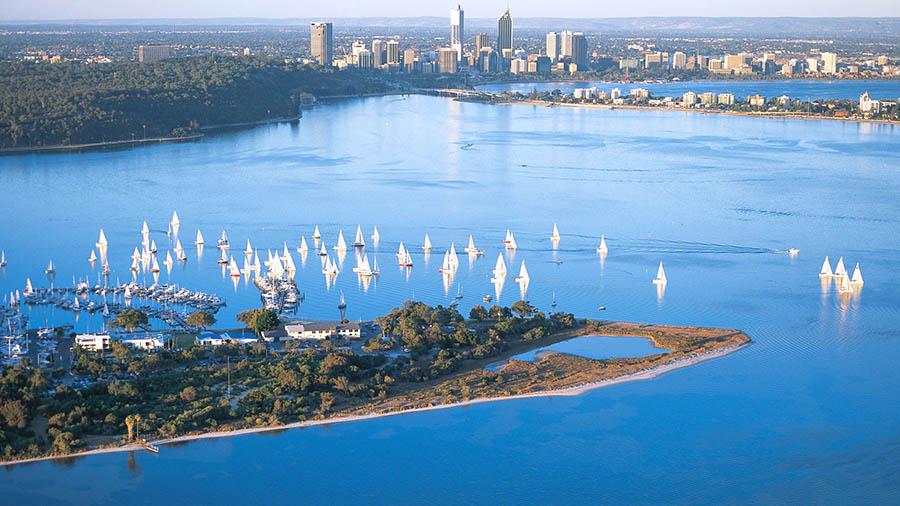 Perth, Kings Park, Swan River and Fremantle (Optional Return Cruise)