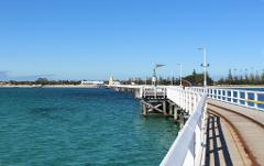 Busselton Jetty, Train Ride & Dolphin Discovery