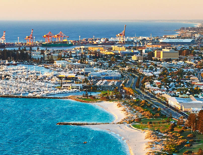 Perth, Kings Park, Swan River and Fremantle Cruise
