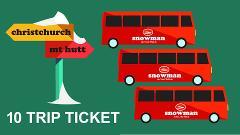Christchurch 10 Trip Ticket