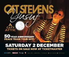 Yusuf/Cat Stevens Return Transport ONLY (ticket not included)