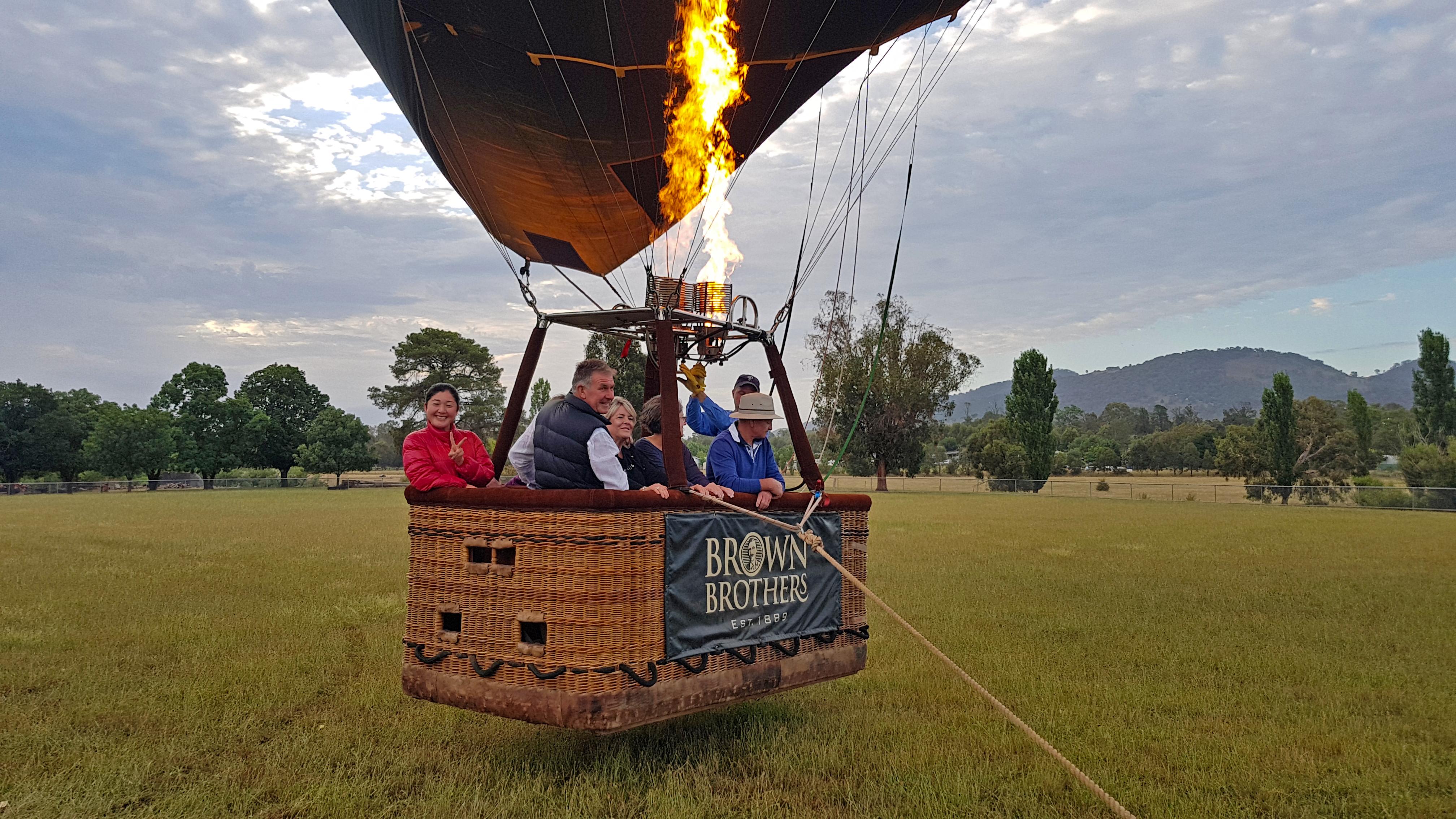 Mansfield Balloon Flight