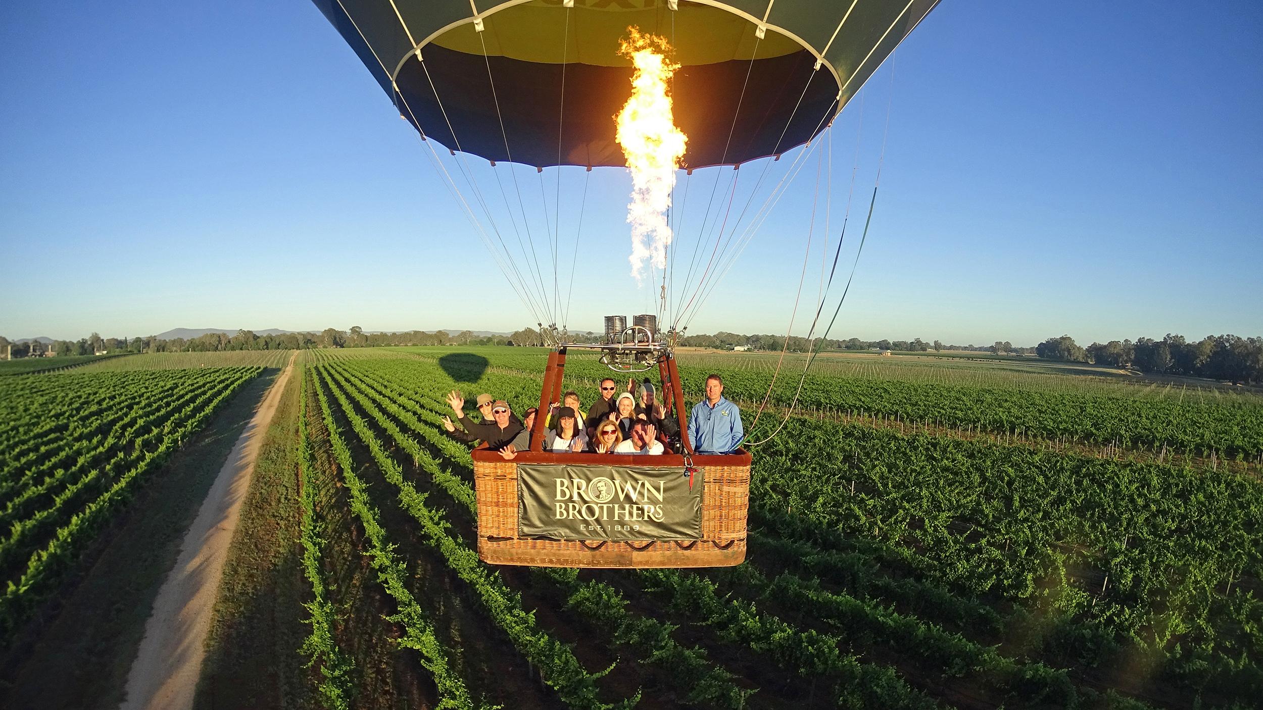 King Valley Balloon Flight