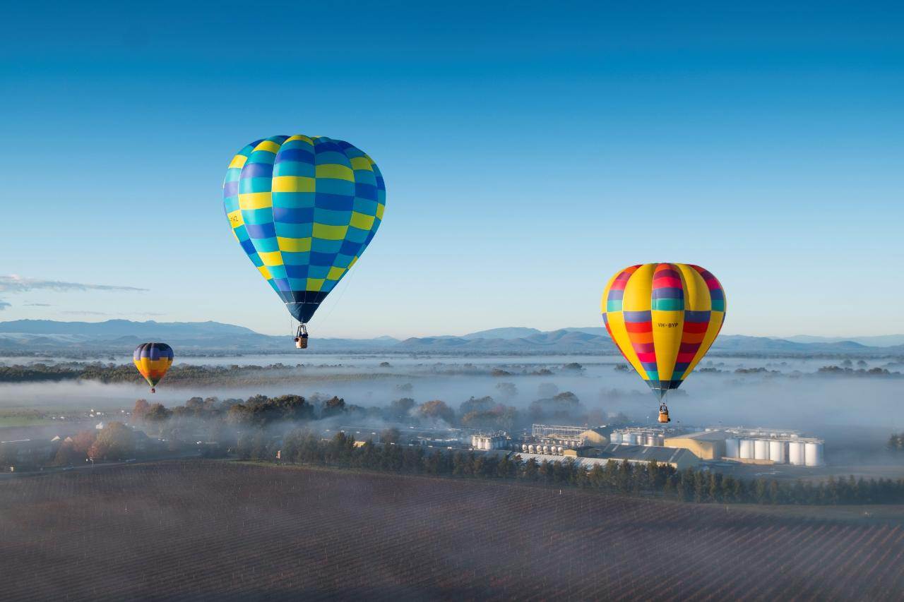 King Valley Balloon Flight