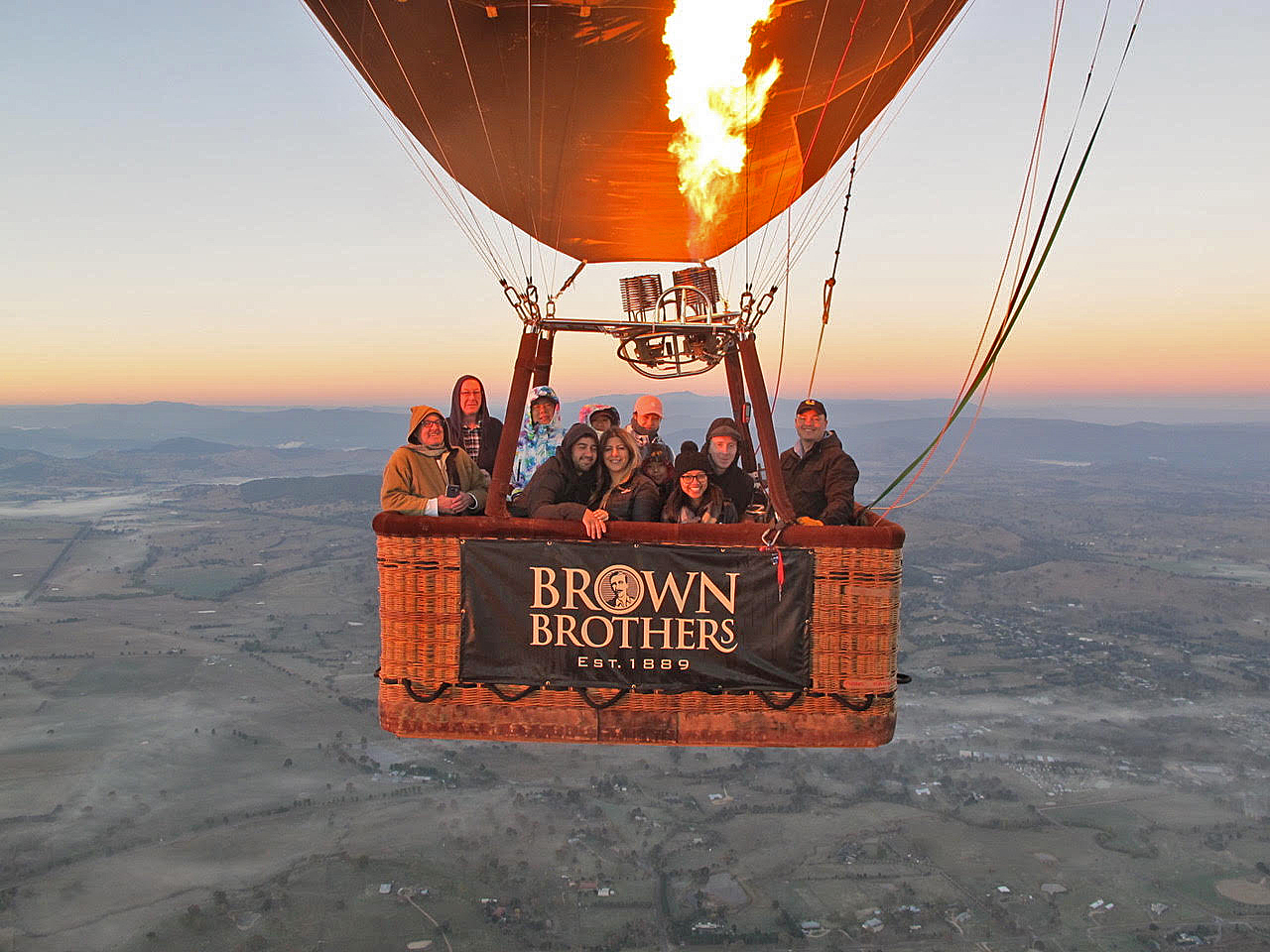 Mansfield Balloon Flight