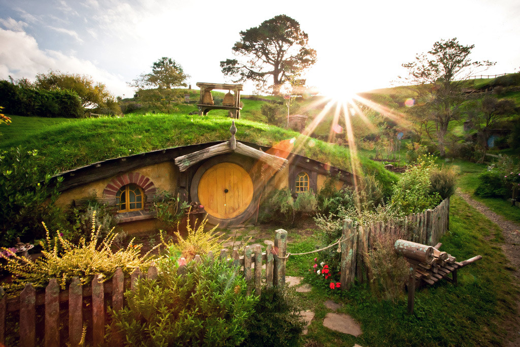 Lord of the Rings Hobbiton Movie tour