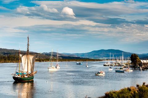 Calm Water Cruise Tasmania Australia