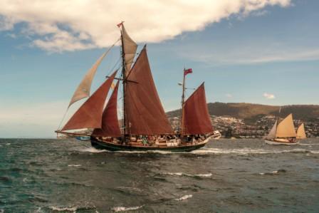 Bruny and D'Entrecasteaux + AWBF Parade of Sail 2019 Tasmania Australia