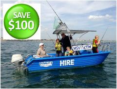 *** BOAT, BAIT & RODS BUNDLE*** EXTREME BOAT FOR 3 HOUR HIRE **Easy To Drive, No Licence Required** THE FIRST 100 HIRERS WILL PAY JUST $290 WHEN USING DISCOUNT CODE DT47B .... BE QUICK, BOOK NOW!