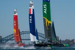 Sail GP Special Event - departing Circular Quay and Manly