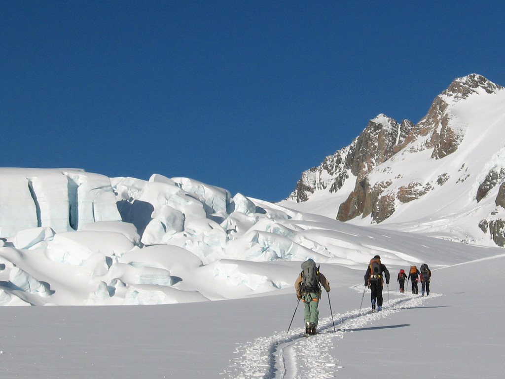 Alpine Ski Touring - 3 Participants