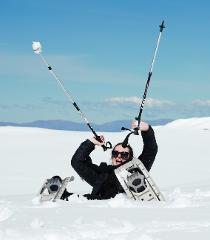 Mount Cook Heli Snowshoeing