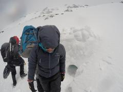 Winter Mountain Skills, 4 participants