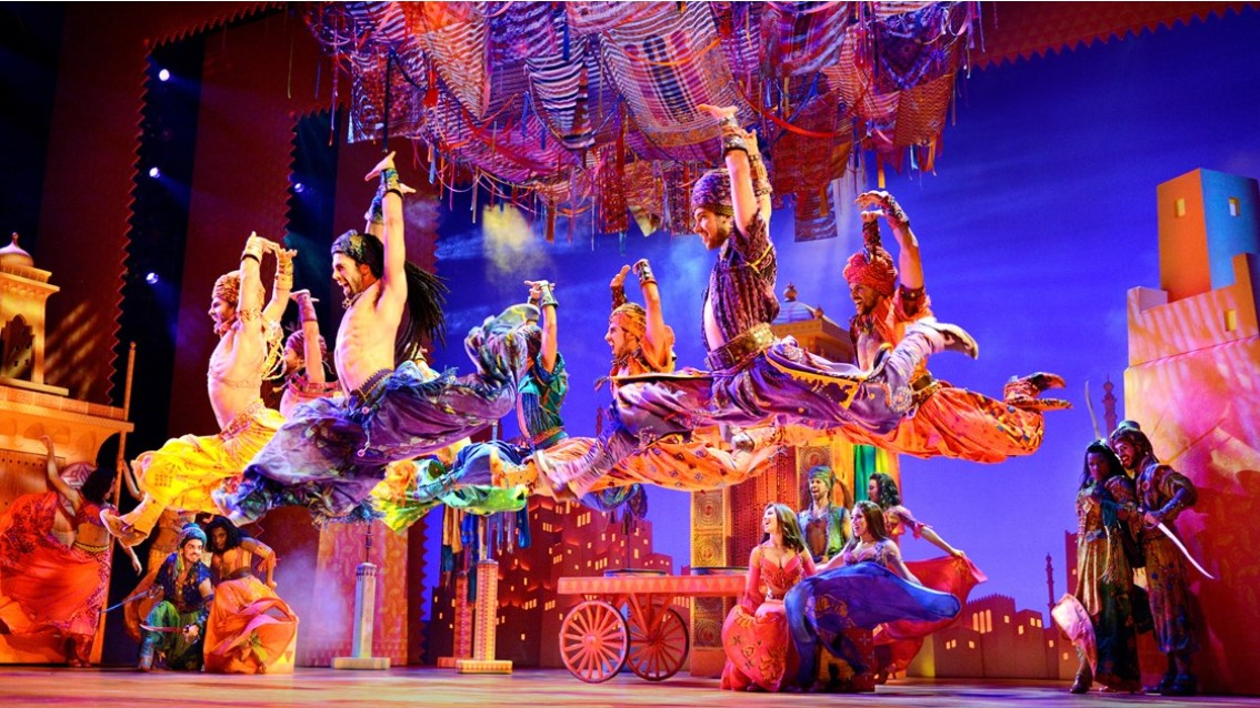 Aladdin The Musical - Day Tour