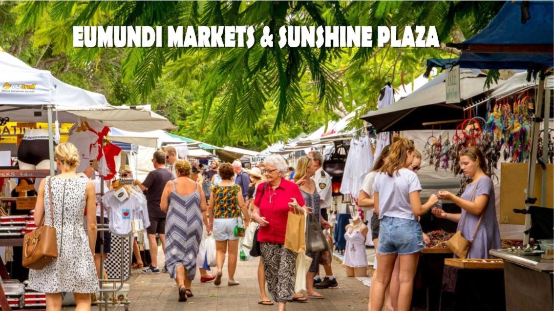 Eumundi Markets & Sunshine Plaza - Day Tour