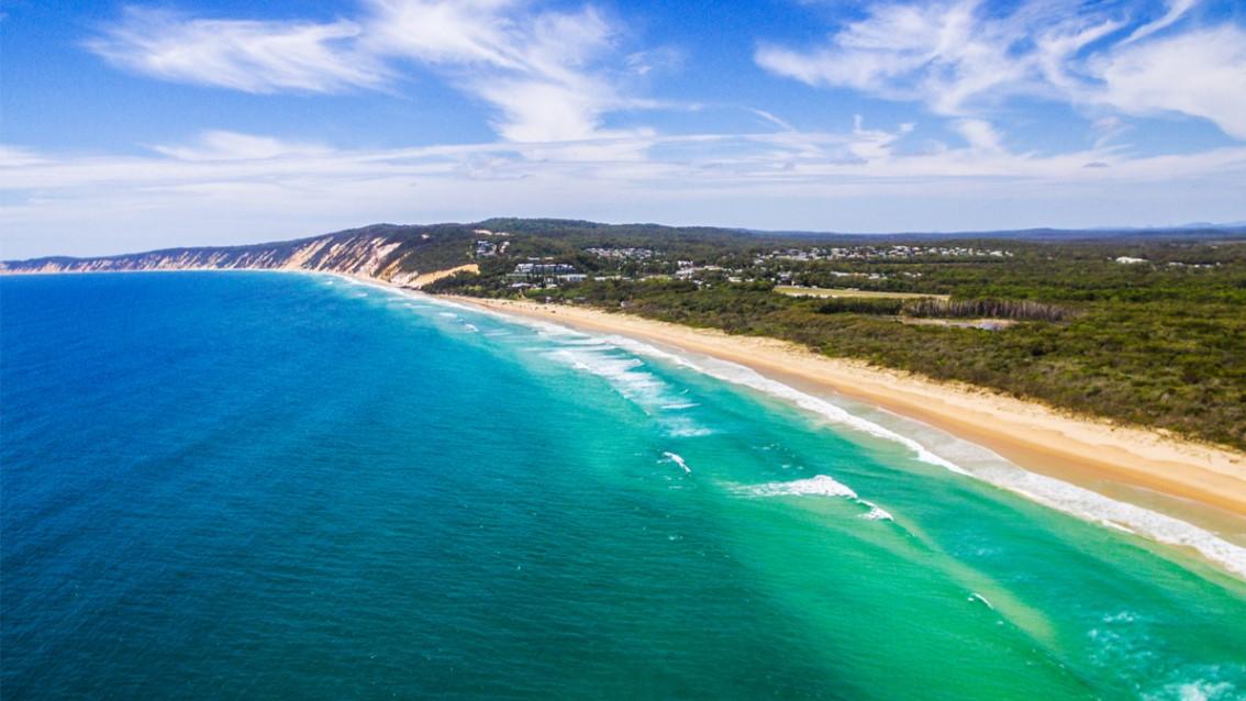 Rainbow beach to tin can bay