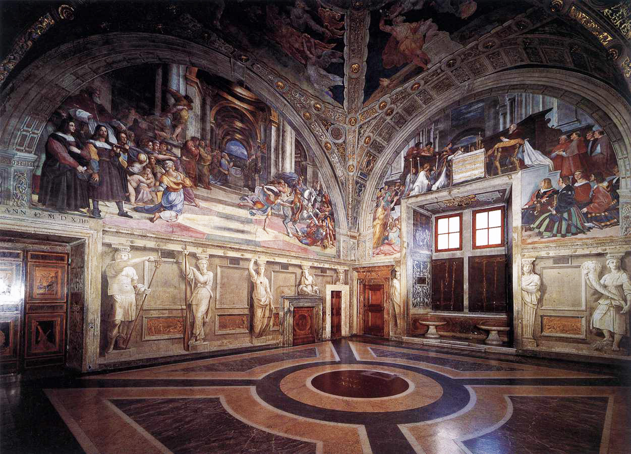 The Rooms of Raphael in the Vatican- Virtual Guided Tour - Live Show