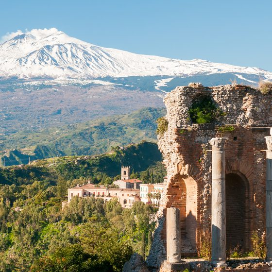 Taormina Sightseeing Shore Excursion from Messina