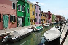 Murano and Burano, Private boat ride from Venice