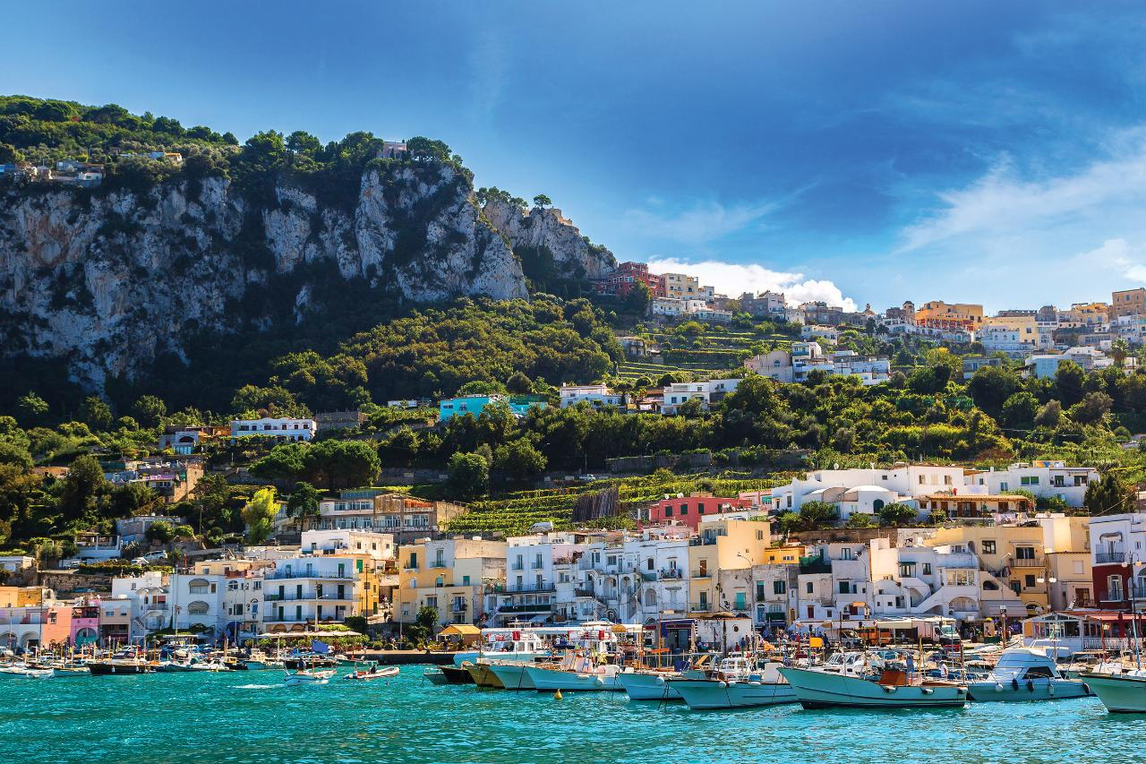 Capri Private Full Day Guided Tour with Ferry