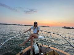 """Private Boat Excursion from Viareggio to """"Il Gombo"""""""