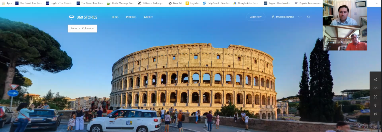 Private Virtual Guided Tour - Corporate e Social Events