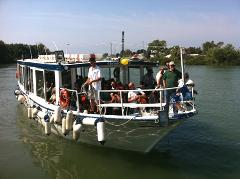 Boat Cruise on Tiber River & Tour of the Scavi of Ancient Ostia