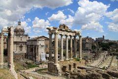 Rome Highlights Sightseeing Driving Guided
