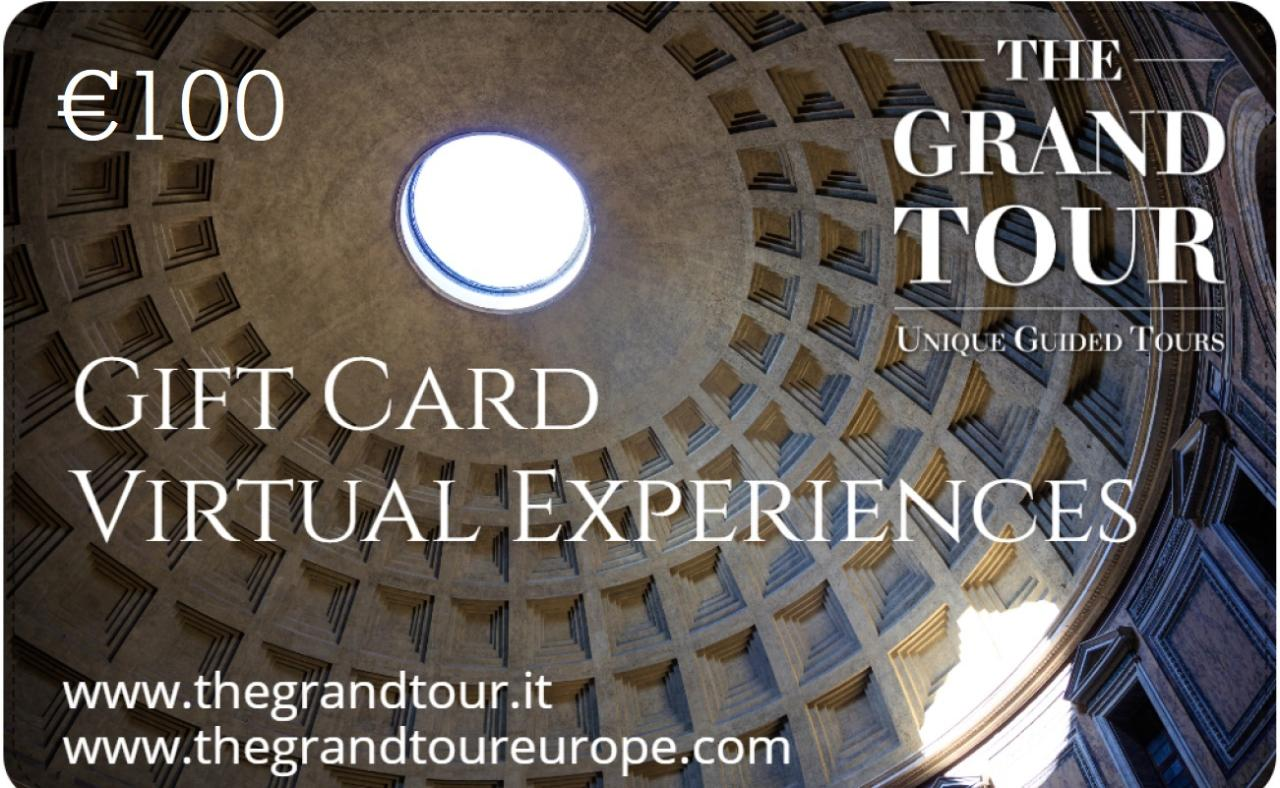 The Grand Tour Private Virtual Experience Gift Card (100)