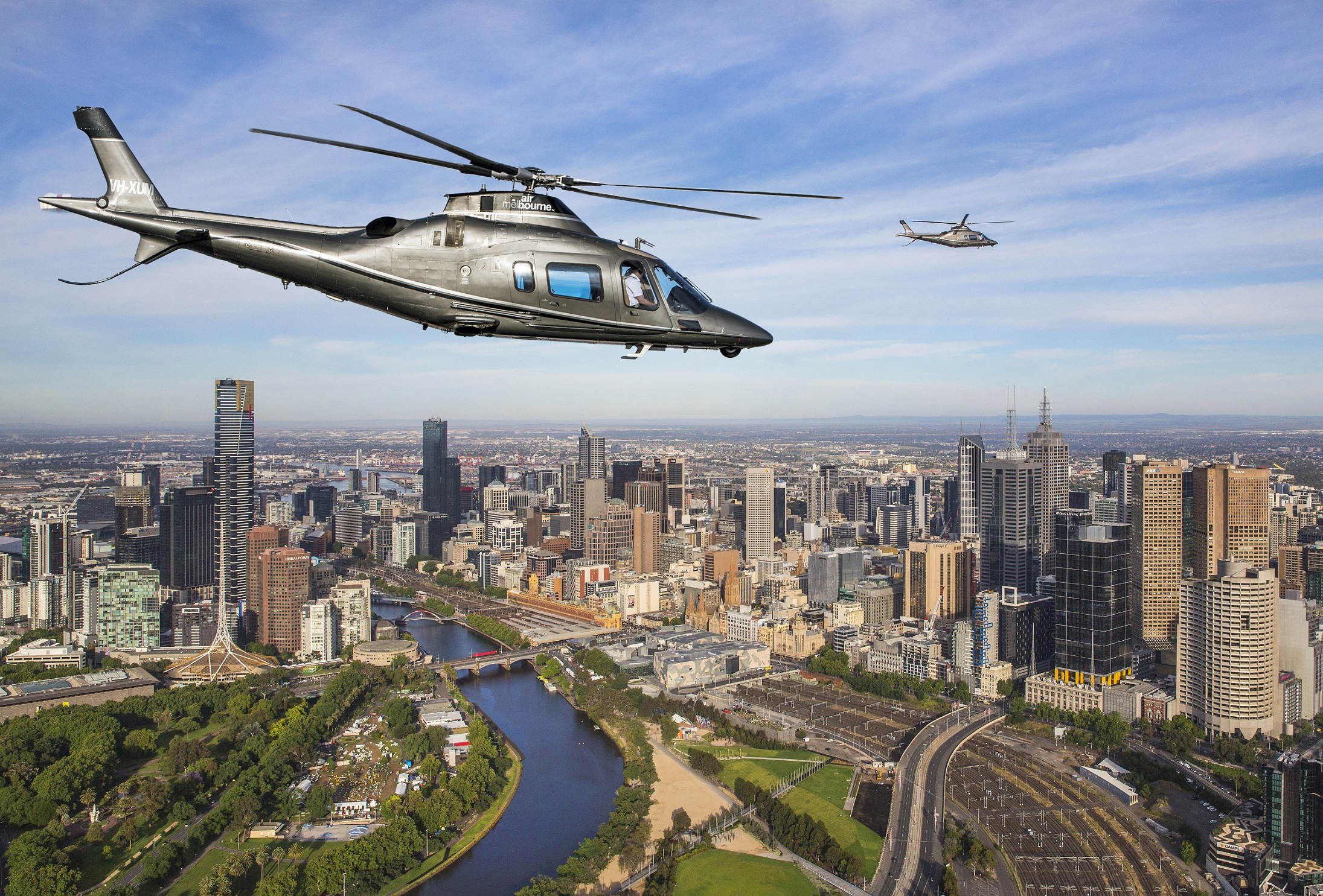 Private Heli-Express: Melbourne City