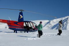 Mount Cook Franz & Fox Magic - includes Snow Landing