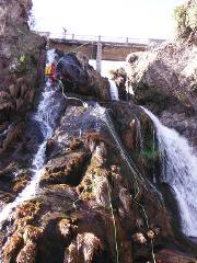 Canyoning no rio de Vessadas (parte superior) :: at Vessadas River (upper section)