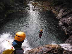 Private Tour de Canyoning no Rio Âncora :: at Âncora River