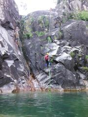 Canyoning no Rio Arado (parte inferior) :: Arado River (lower section)