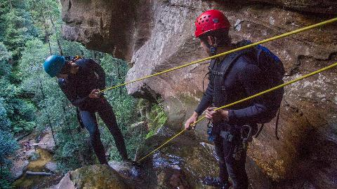 Guide Single Pitch Canyoning  Qualification