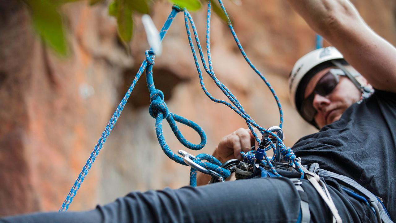 Rock - Climber's Self Rescue Course
