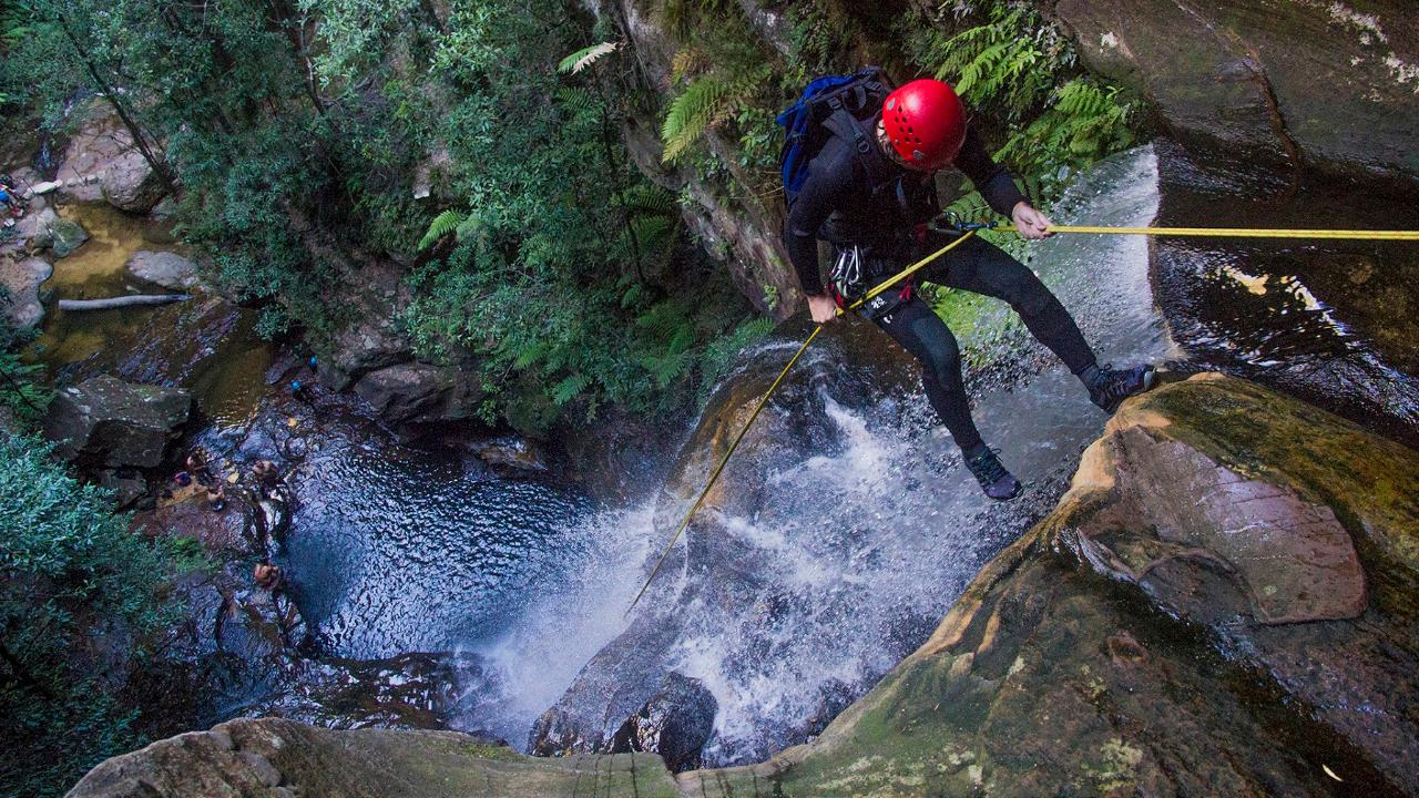 Abseiling & Canyoning Adventure