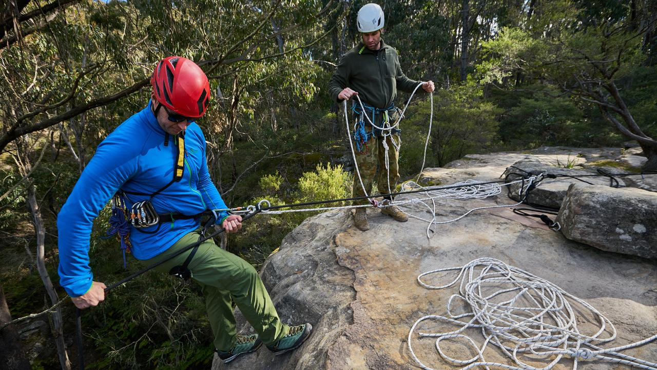 Abseiling - Rescue Skills Course